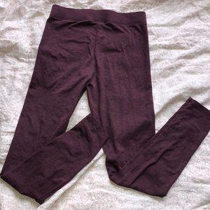 PINK Victoria's Secret Pants - Pink Maroon leggings